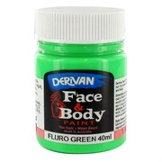 Fluro Green Face Paint 40ml Pk 1