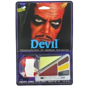 Devil Horns & Face Paint Kit Pk 1