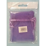 Lilac / Light Purple Organza Bags (10cmx7.5cm) Pk 5