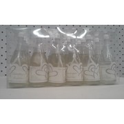Champagne Bottle Bubbles with Hearts Pk 24