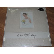 Cream Rose Patterned Wedding Album Pk 1