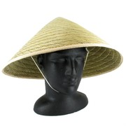 Chinese Straw Coolie Hat Pk 1