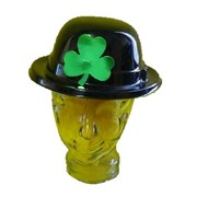 Irish Bowler Hat with Shamrock - St Patricks Day Pk 1