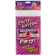 Hens Night Bachelorette Invitations Pk6