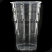 Costwise Economy Clear Plastic Cups 425ml Pk 1000