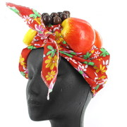 Latin Lady Fruit Headpiece Pk 1