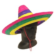 Multi Colour Mexican Sombrero Pk 1