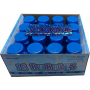 Party Bubbles - Blue Bottles Pk 16