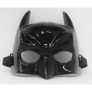 Black Plastic Batman Party Mask Pk 1