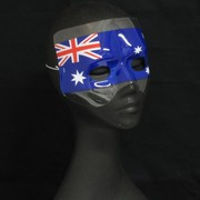Australian Flag Party Mask Pk 1