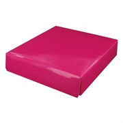 Mini Box Lid 13cm x 11cm Hot Pink Pk1
