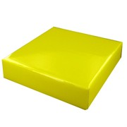 Mini Box Lid 13cm x 11cm Yellow Pk1