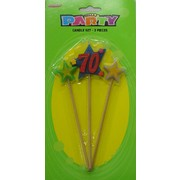 Pick Candle #70 (3 Pieces) Pk 1