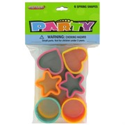 Party Favours - Spring Shapes Pk 6