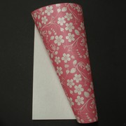 A4 Paper 120gsm Patterned Spring Garden Reversed Lipstick Pink Pk10