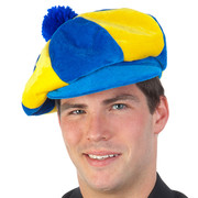 Blue & Yellow Jockey Hat Pk 1