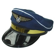 Blue Pilot Hat (Adult) Pk 1