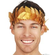 Gold Leaf Headband Pk 1