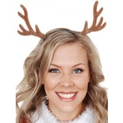 Christmas Reindeer Antlers Head Boppers on Headband Pk 1