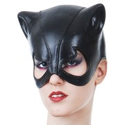 Cat Woman PVC Party Mask Pk 1