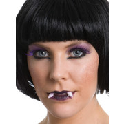 Vamp Vixen Make Up Kit - Lashes, Fangs, Lipstick & Gel Pk 1