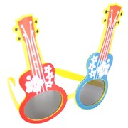 Ukulele Glasses - Red, Blue & Yellow Pk 1