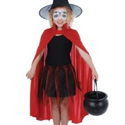 Red Devil Cape - Child Pk 1