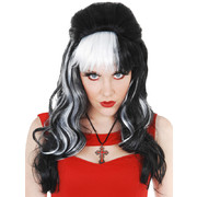 Black & White Carrie Wig Pk1 (Wig Only)