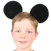 Mickey Mouse Party - Mouse Ears on Headband Pk1