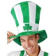 Green & White St Patricks Day Top Hat Pk 1