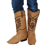 Cowboy Boot Covers Costume Pk 2 - 1 pair