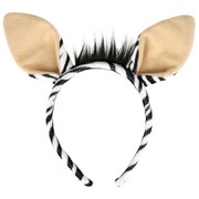 Zebra Ears on Headband  Pk 1
