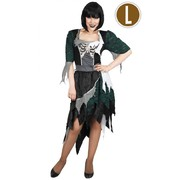 Adult Zombie Wench Dress Costume (Large) Pk 1