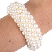 3 Strand Pearl Bracelet Pk 1