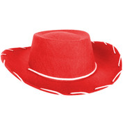 Red Cowboy Hat (Child) Pk 1