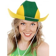 Green & Gold Cowboy Hat Pk 1