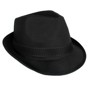 Black Trilby Hat Pk 1