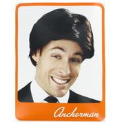 Brown Anchorman Wig With Swept Fringe Pk 1