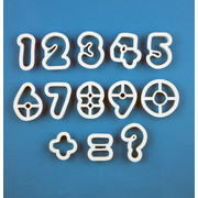 Number Cutter Set (13 Pieces) Pk 1