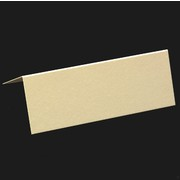 Place Card Pack Plain Curious Metallic White Gold Pk10