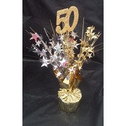 Centrepiece Weight and Pick 50 Gold Pk1