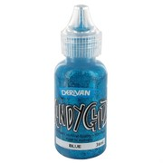 Kindyglitz Glitter Glue - Blue 36ml Pk1