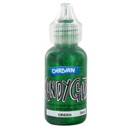 Kindyglitz Glitter Glue - Green 36ml Pk1