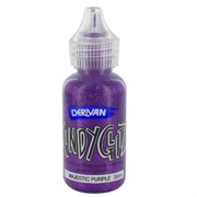 Kindyglitz Glitter Glue - Magestic Purple 36ml Pk1
