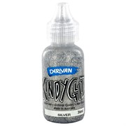 Kindyglitz Glitter Glue - Silver 36ml Pk1