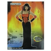 Costume Vampiress Adult Pk1