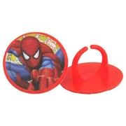 Amazing Spiderman Party Rings Cake Decorations Pk 20