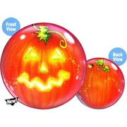 Halloween Pumpkin Lantern Bubble Balloon 22in Pk 1