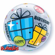 Balloon Bubble Birthday Funky Gifts Pk1