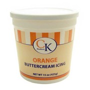 Orange Buttercream Icing 425g Pk 1